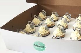 cupcakes de vainilla en envigado dulcepastel