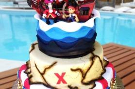 Torta Jake y los Piratas en Envigado, Dulcepastel.com