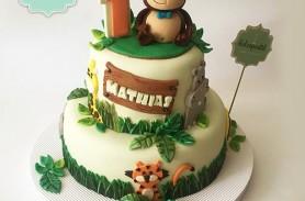 Torta Zoológico Safari Envigado Medellin Dulcepastel