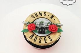 guns n roses cupcakes envigado medellin dulcepastel