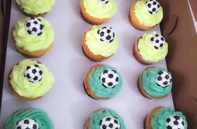 cupcakes futbol envigado medellin dulcepastel
