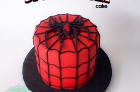 torta spiderman envigado medellin dulcepastel