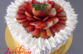 torta fresas medellin envigado dulcepastel