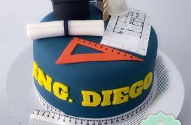 torta graduacion envigado medellin dulcepastel