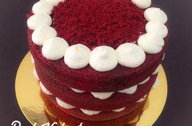 torta red velvet poblado medellin dulcepastel