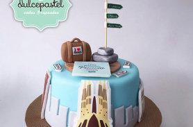 torta viaje envigado medellin dulcepastel