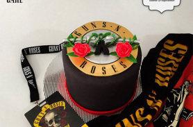 torta guns n roses medellin envigado dulcepastel