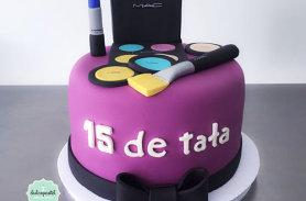 torta maquillaje cosmeticos medellin envigado dulcepastel