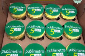 cupcakes corporativos publimetro medellin dulcepastel
