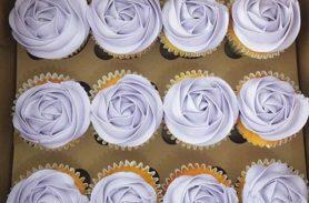 cupcakes flores crema envigado dulcepastel