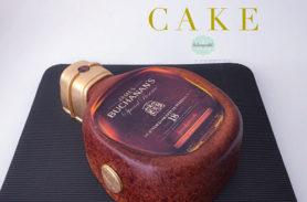 torta botella whisky medellin envigado dulcepastel