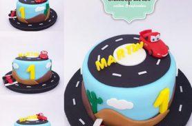 torta disney cars medellin dulcepastel