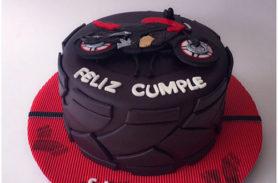 torta moto pulsar medellin envigado dulcepastel