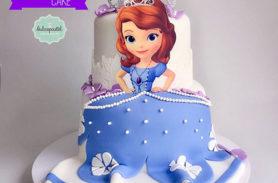 torta princesita sofia medellin dulcepastel