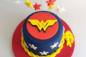 torta wonder woman medellin dulcepastel