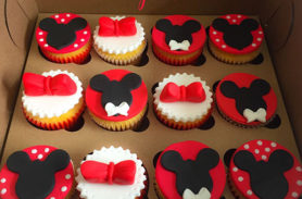 cupcakes minnie mouse medellin dulcepastel