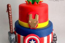 torta avengers medellin envigado dulcepastel
