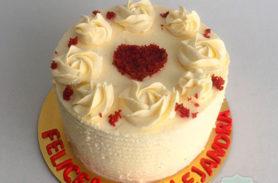 torta red velvet caldas dulcepastel
