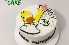 torta los simpsons medellin dulcepastel