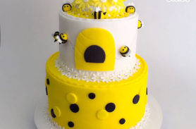 torta abejas medellin dulcepastel
