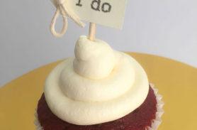 cupcake red velvet medellin dulcepastel