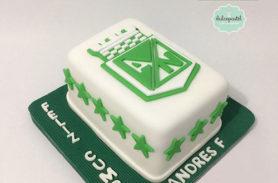 torta atletico nacional medellin dulcepastel