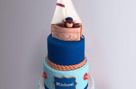 torta marina baby shower medellin dulcepastel