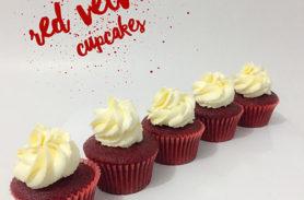cupcakes red velvet medellin dulcepastel