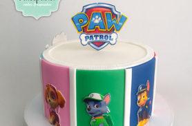 torta paw patrol medellin dulcepastel