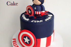 torta capitan america medellin dulcepastel