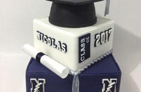 torta graduación medellin dulcepastel