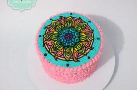 torta mandala medellin dulcepastel