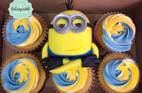 cupcakes minions medellin dulcepastel
