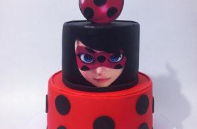 torta ladybug medellin dulcepastel