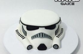 torta stormtrooper medellin dulcepastel