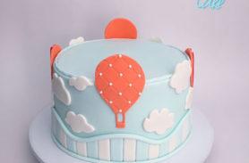 torta globos medellin dulcepastel