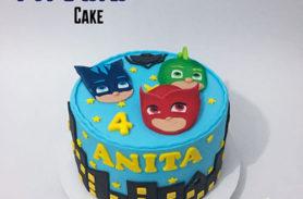 torta heroes pijamas medellin dulcepastel