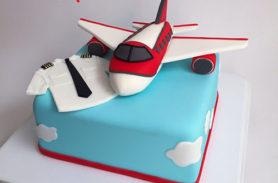torta avion piloto medellin dulcepastel