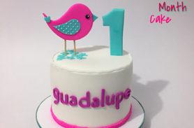 torta pajarito 1er año medellin dulcepastel