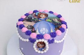 torta princesa sofía medellin dulcepastel