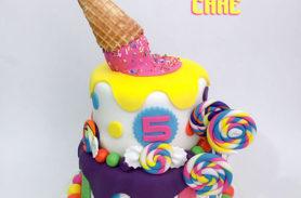 torta helados caramelos medellin dulcepastel