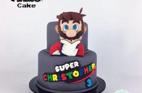 mario bros cake medellin dulcepastel
