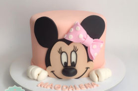 minnie mouse cake medellin dulcepastel