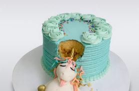 torta unicornio comelon medellin dulcepastel