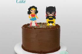 torta chocolate supergirls