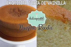 tutorial torta vainilla dulcepastel