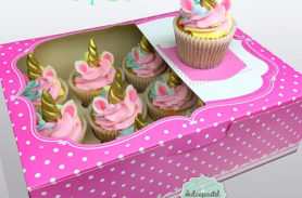 cupcakes unicornio medellin dulcepastel