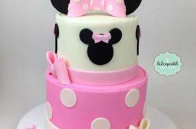 torta minnie mouse medellin dulcepastel