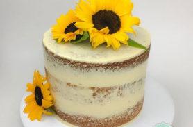 torta girasol medellin dulcepastel