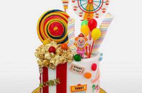 torta circo medellín dulcepastel.com